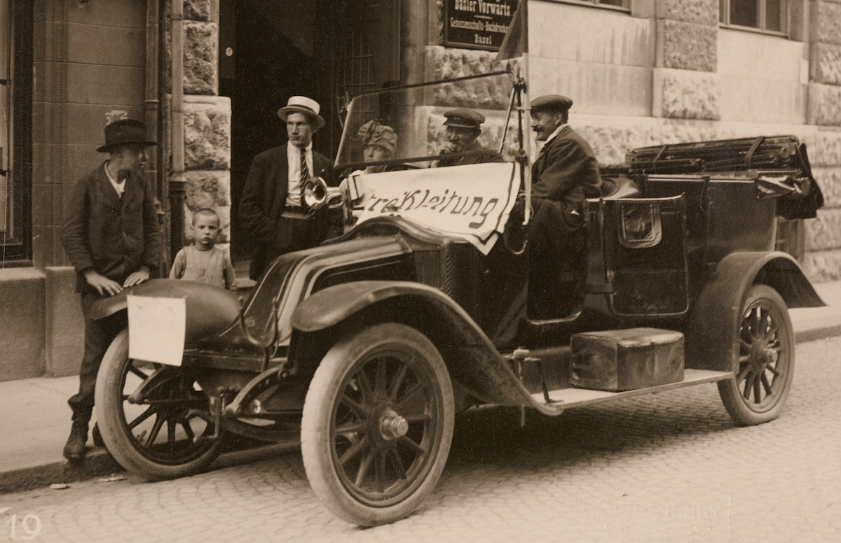 Genreralstreik in Basel, 1918